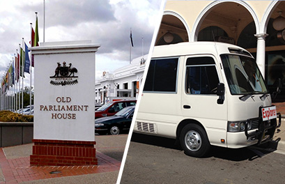minibus old parliament house